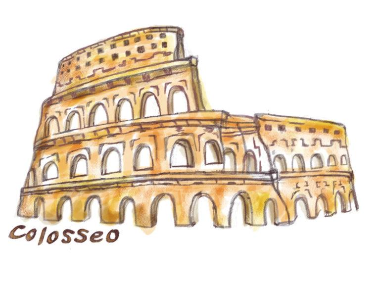 イタリアに憧れを抱き、コロッセオをアイコンに設定しました。
